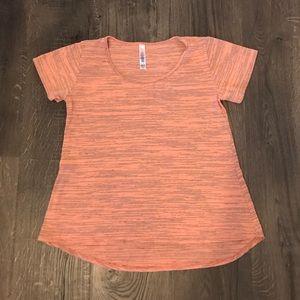 Lularoe XXS Pinkish-Peach Classic T Shirt